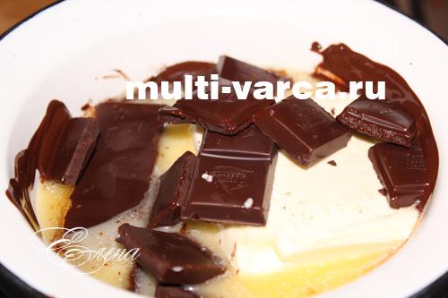 Торт суфле три шоколада фото 8