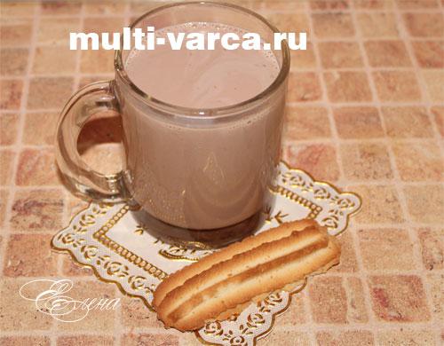 Как сварить какао из порошка на молоке с